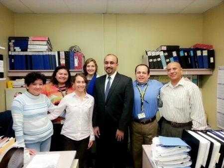 Photo: Staff at Bronx Lebanon Hospital
